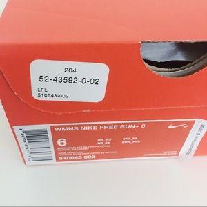 Nike Shoes - Nike Free Run+ 3